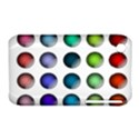 Button Icon About Colorful Shiny Apple iPhone 3G/3GS Hardshell Case (PC+Silicone) View1