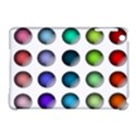 Button Icon About Colorful Shiny Apple iPad Mini Hardshell Case (Compatible with Smart Cover) View1