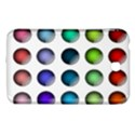 Button Icon About Colorful Shiny Samsung Galaxy Tab 3 (7 ) P3200 Hardshell Case  View1
