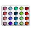 Button Icon About Colorful Shiny Kindle Fire HDX Hardshell Case View1
