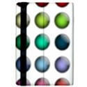 Button Icon About Colorful Shiny iPad Mini 2 Flip Cases View4