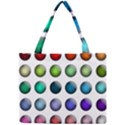 Button Icon About Colorful Shiny Mini Tote Bag View1