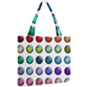 Button Icon About Colorful Shiny Mini Tote Bag View2