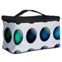 Button Icon About Colorful Shiny Cosmetic Storage Case View2