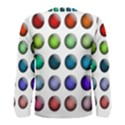 Button Icon About Colorful Shiny Men s Long Sleeve Tee View2