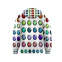 Button Icon About Colorful Shiny Kids  Pullover Hoodie View2