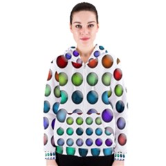 Button Icon About Colorful Shiny Women s Zipper Hoodie