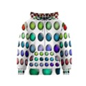 Button Icon About Colorful Shiny Kids  Zipper Hoodie View1