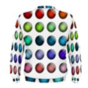 Button Icon About Colorful Shiny Men s Sweatshirt View2