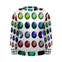 Button Icon About Colorful Shiny Women s Sweatshirt View1