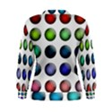 Button Icon About Colorful Shiny Women s Sweatshirt View2