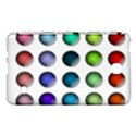 Button Icon About Colorful Shiny Samsung Galaxy Tab 4 (7 ) Hardshell Case  View1