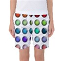 Button Icon About Colorful Shiny Women s Basketball Shorts View1