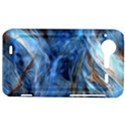 Blue Colorful Abstract Design  HTC Incredible S Hardshell Case  View1