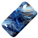 Blue Colorful Abstract Design  HTC Desire V (T328W) Hardshell Case View4