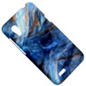 Blue Colorful Abstract Design  HTC Desire VT (T328T) Hardshell Case View5