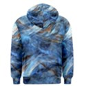 Blue Colorful Abstract Design  Men s Pullover Hoodie View2
