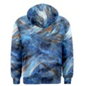 Blue Colorful Abstract Design  Men s Zipper Hoodie View2