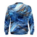 Blue Colorful Abstract Design  Men s Sweatshirt View2