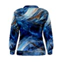 Blue Colorful Abstract Design  Women s Sweatshirt View2