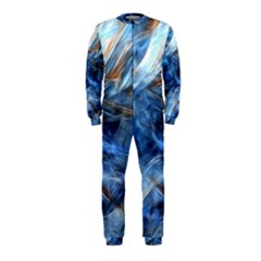 Blue Colorful Abstract Design  OnePiece Jumpsuit (Kids)