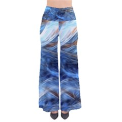 Blue Colorful Abstract Design  Pants