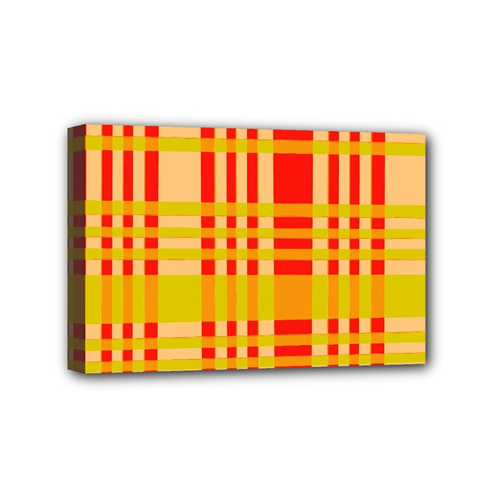 Check Pattern Mini Canvas 6  x 4