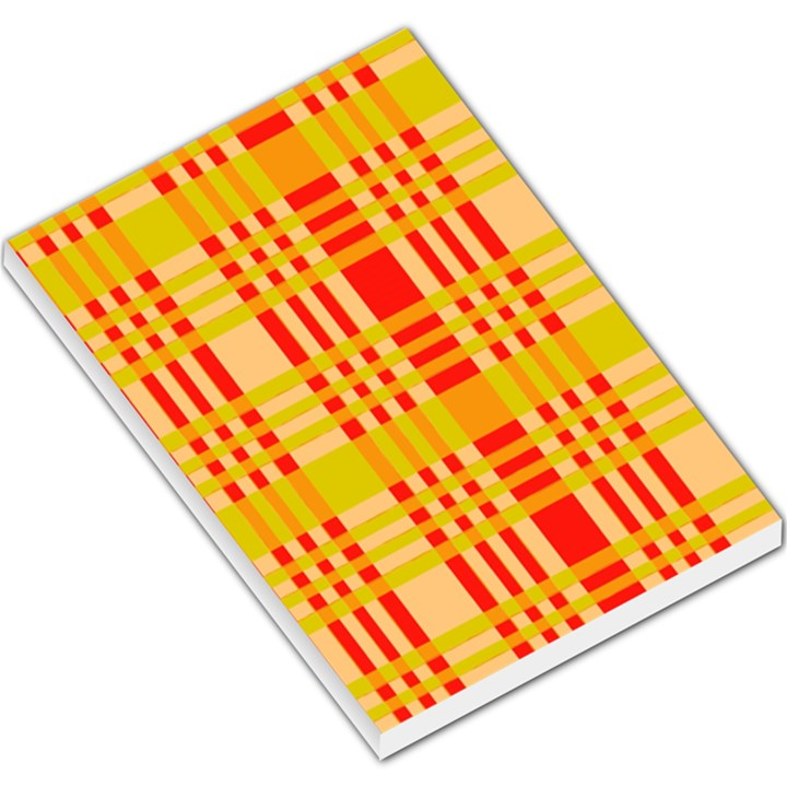 Check Pattern Large Memo Pads