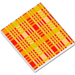 Check Pattern Small Memo Pads