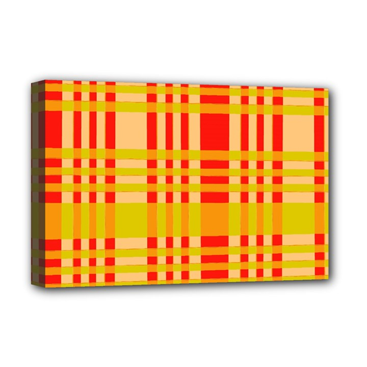 Check Pattern Deluxe Canvas 18  x 12