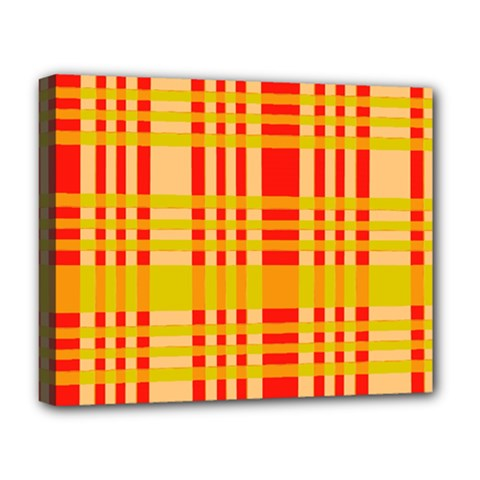 Check Pattern Deluxe Canvas 20  x 16