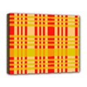 Check Pattern Deluxe Canvas 20  x 16   View1