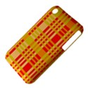 Check Pattern Apple iPhone 3G/3GS Hardshell Case (PC+Silicone) View4