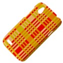 Check Pattern HTC Desire V (T328W) Hardshell Case View4