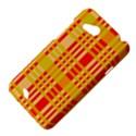 Check Pattern HTC Desire VC (T328D) Hardshell Case View4