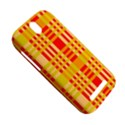 Check Pattern HTC One SV Hardshell Case View5