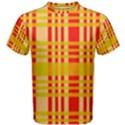 Check Pattern Men s Cotton Tee View1