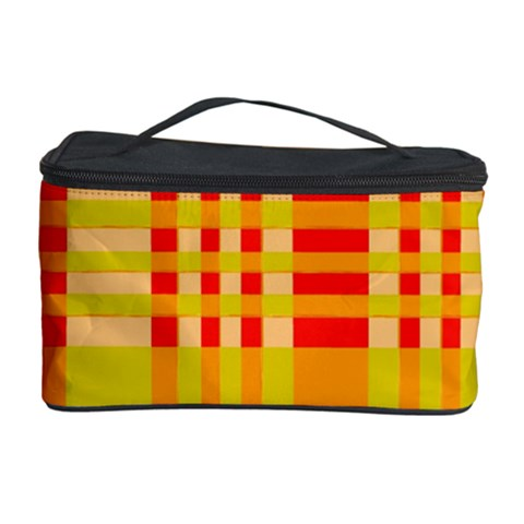 Check Pattern Cosmetic Storage Case