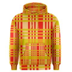 Check Pattern Men s Pullover Hoodie