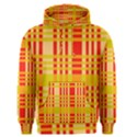 Check Pattern Men s Pullover Hoodie View1