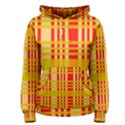 Check Pattern Women s Pullover Hoodie View1