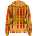 Check Pattern Women s Pullover Hoodie View2
