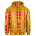 Check Pattern Men s Zipper Hoodie View1