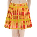 Check Pattern Pleated Mini Skirt View1