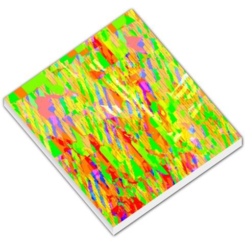 Cheerful Phantasmagoric Pattern Small Memo Pads
