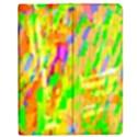 Cheerful Phantasmagoric Pattern Apple iPad 2 Flip Case View1