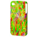 Cheerful Phantasmagoric Pattern Apple iPhone 4/4S Hardshell Case (PC+Silicone) View3