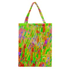 Cheerful Phantasmagoric Pattern Classic Tote Bag