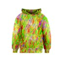 Cheerful Phantasmagoric Pattern Kids  Pullover Hoodie View1