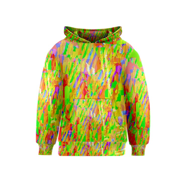 Cheerful Phantasmagoric Pattern Kids  Pullover Hoodie